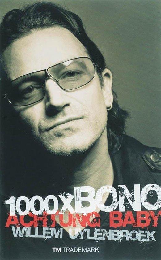 Cover van het boek '1000x Bono' van W. Uylenbroek
