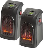 Handy Heater - Stopcontact Verwarming - Draadloos - 2 stuks