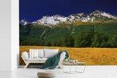 Fotobehang vinyl - Omgeving in het Nationaal park Mount Aspiring op Zuidereiland breedte 390 cm x hoogte 260 cm - Foto print op behang (in 7 formaten beschikbaar)