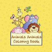Animals Animals Coloring Book