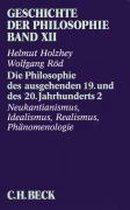 Die Philosophie des ausgehenden 19. und des 20. Jahrhunderts 2
