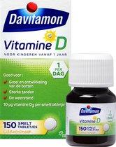 Davitamon Vitamine D Kinderen - Voedingssupplement - Smelttablet 150 stuks