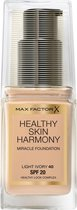 Max Factor Healthy Skin Harmony Miracle Foundation SPF20 30ML - 40 Light Ivory