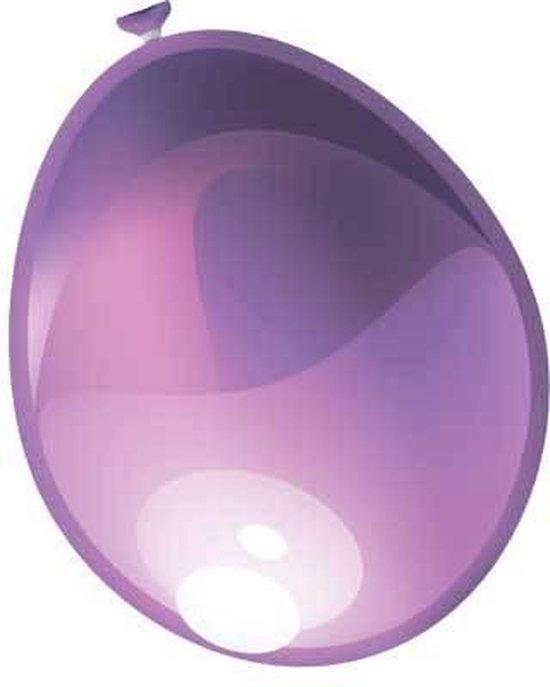 Ballonnen 30cm parel violet (10 stuks)