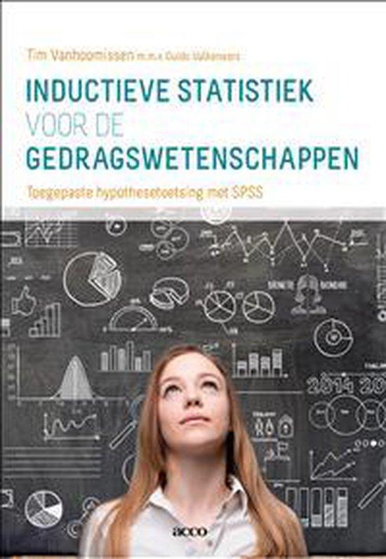 Inductieve statistiek voor de gedragswetenschappen - Tim Vanhoomissen |