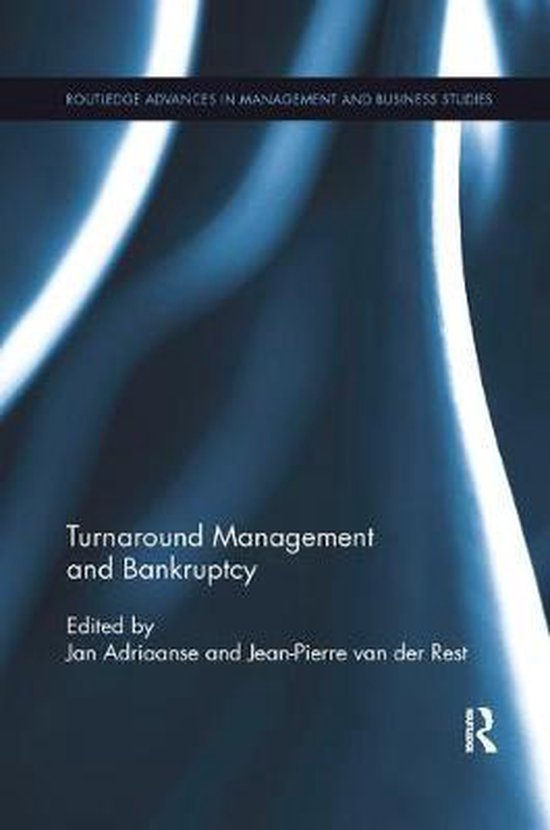 Boek cover Turnaround Management and Bankruptcy van  (Paperback)