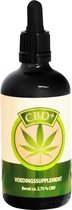 Cbd+ olie 2,75% 100ml
