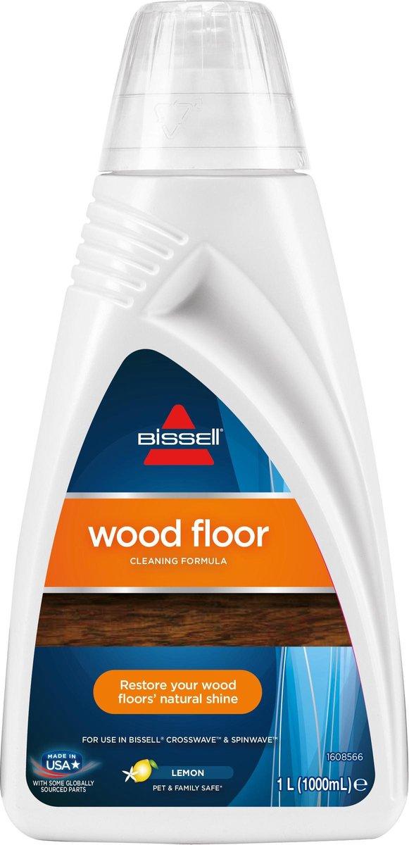 BISSELL Wood Floor - Reinigingsmiddel voor houten vloeren voor SpinWave/CrossWave - 1l