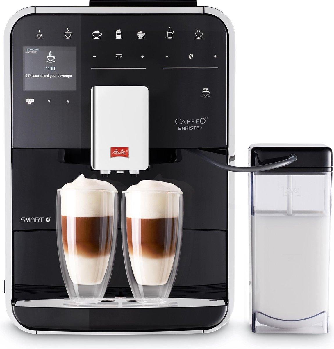 Melitta Barista T Smart F830 102 Espressomachine Zwart