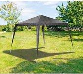 MaxxGarden Partytent - 3x3m - UV-beschermend - Antraciet