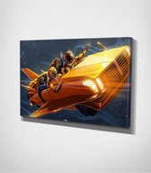 Space Ride Canvas | 30x40 cm
