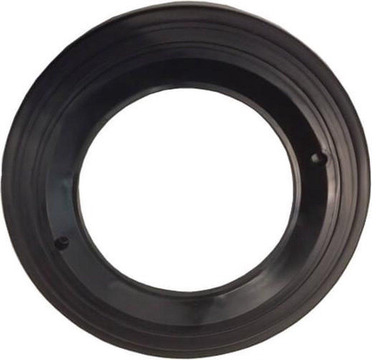 Aqua-Forte zwarte ring voor de behuizing