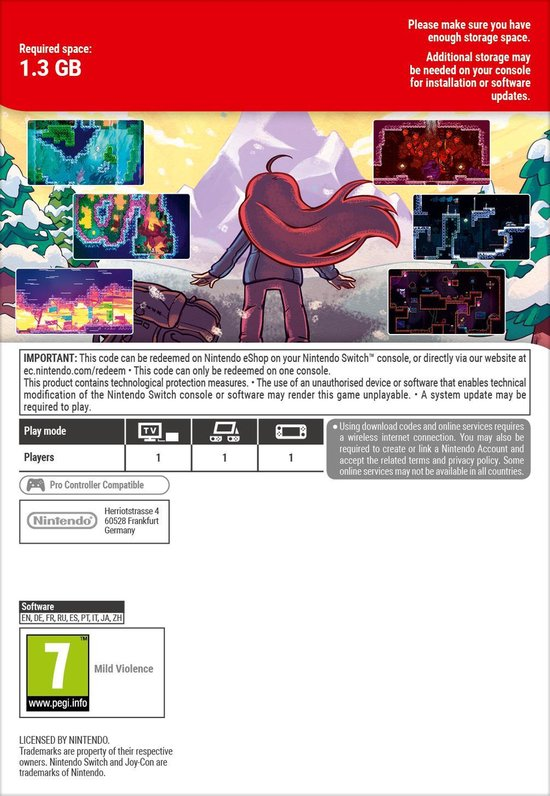 Celeste - Nintendo Switch Download