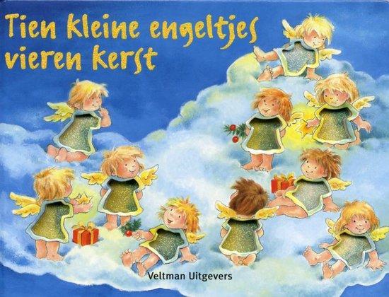 Cover van het boek '10 Kleine engeltjes vieren kerst' van Dorothea Ackroyd