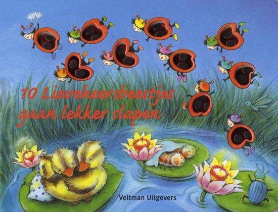 Cover van het boek '10 Lieveheersbeestjes gaan lekker slapen' van I. Alebi