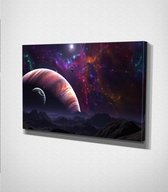 Outer Space Canvas | 70x100 cm