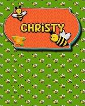 Handwriting Practice 120 Page Honey Bee Book Christy