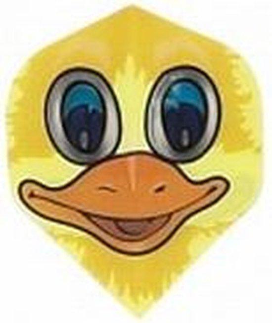 Afbeelding van het spel Ruthless Standaard Comic Duck.  Set à 3 stuks