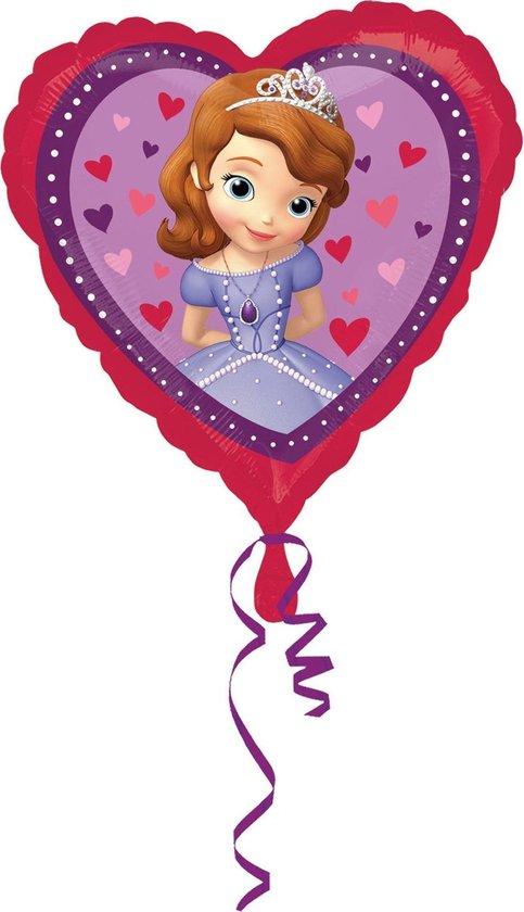 Disney Sofia the First hart follieballon 43 cm.