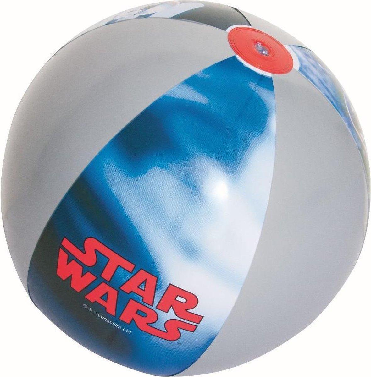 Bestway Strandbal Star Wars 61 Cm Blauw/grijs