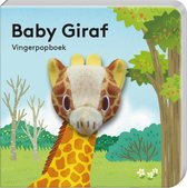 Vingerpopboekje Baby Giraf