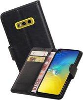 Zakelijke Bookstyle Hoesje voor Samsung Galaxy S10e Zwart
