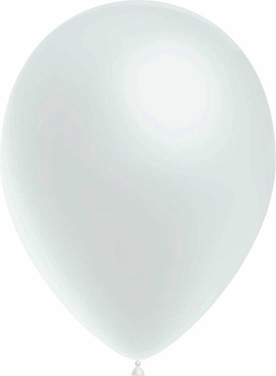 Witte Ballonnen 30cm 50 stuks