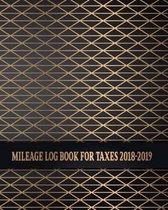 Mileage Log Book For Taxes 2018-2019