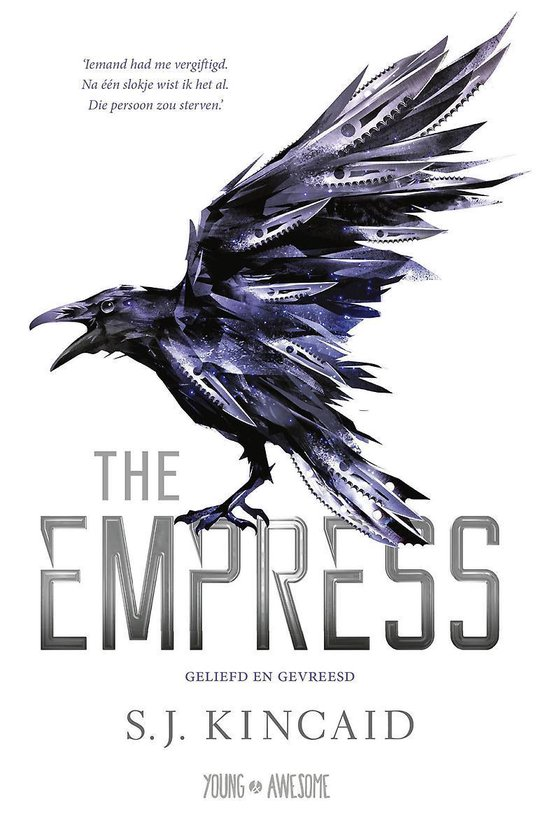 Young & Awesome - The Empress - S.J. Kincaid |