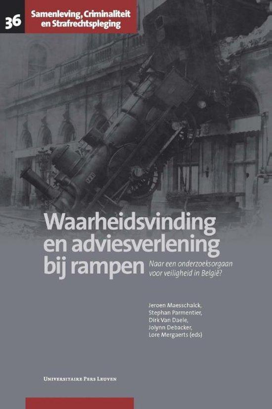 Waarheidsvinding en adviesverlening bij rampen - Lore Mergaerts |