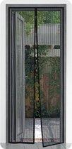 Pro+ Magnetische Hordeur - 2x50x210 cm - Zwart