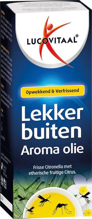 Lucovitaal - Aroma olie Lekker buiten - 200 mililiter - Etherische olie