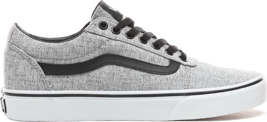Vans Ward Textile Heren Sneakers - Gray/White - Maat 41