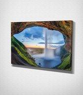 Waterfall Canvas | 70x100 cm