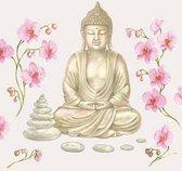 Ambiente Servetten Buddha