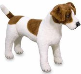 Pluche knuffel Jack Russell hond 53 cm