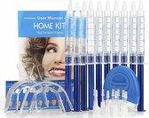 E Shoppr® Professionele Tandenbleekset - 10 Gelspuiten - 3D LED Teeth Whitening Kit - Veilig Tanden Bleken Thuis - Zonder Peroxide (0%) – Effectieve Tandenbleker - Witte Tanden