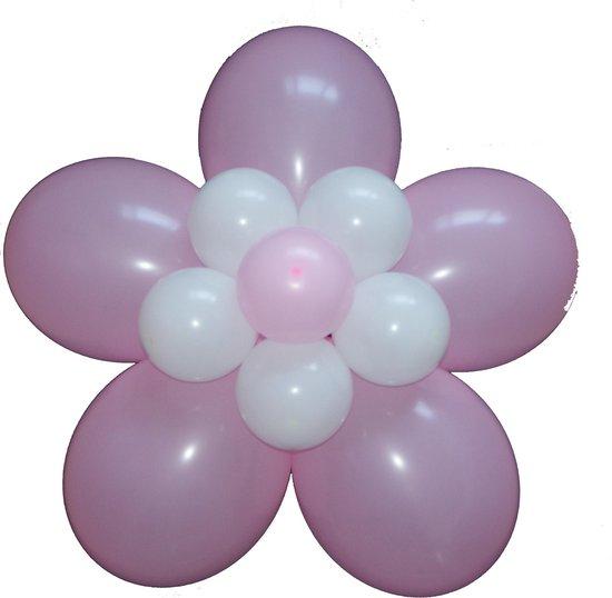 Verwonderlijk bol.com | Ballonnen bloem zelf maken, Roze, geboorte babyshower KI-51