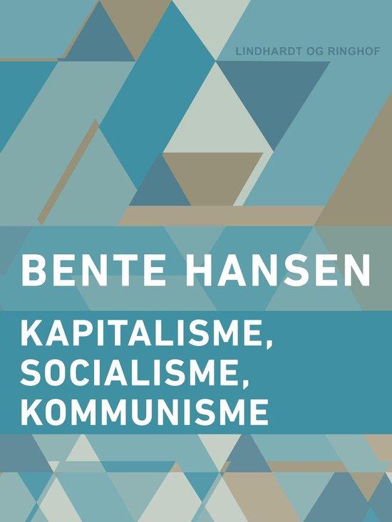 Kapitalisme, socialisme, kommunisme
