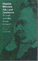 Boek cover Aldus sprak Zarathoestra van Friedrich Nietzsche
