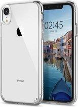 Spigen Ultra Hybrid case iPhone XR doorzichtig hoesje - Transparant