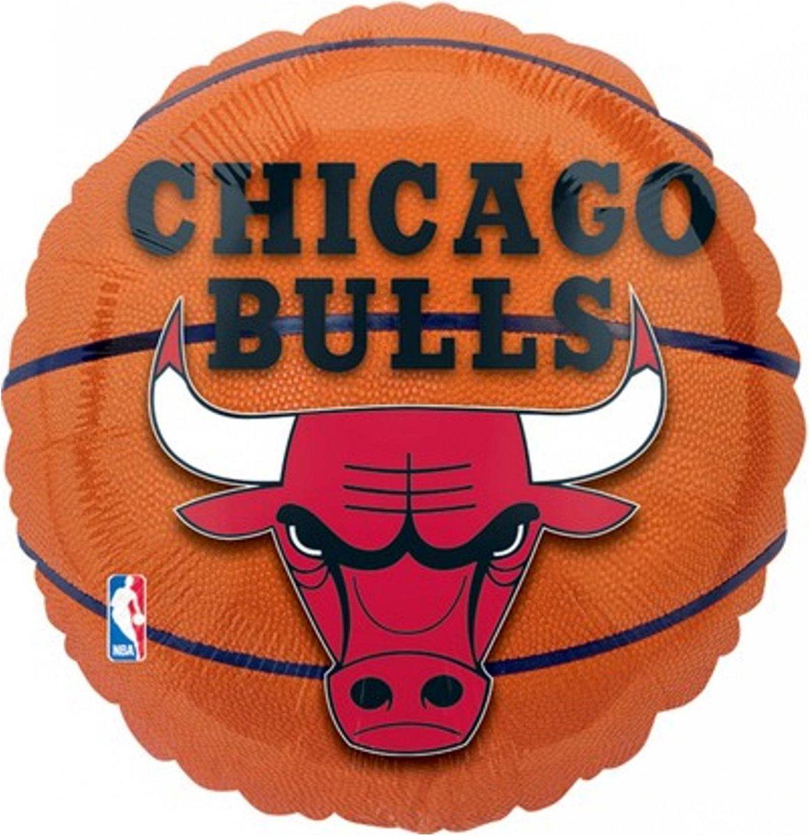 BIGIEMME SRL - Aluminium Chicago Bulls ballon - Decoratie > Ballonnen