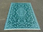 Buitenkleed 120 x 180 cm, Groen/ Blauw