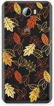 Huawei Y5II / Y6II Compact Hoesje Falling Leaves