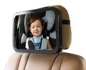 Achterbank spiegel voor Baby & Kind - Auto Accessoires - Shatterproof - Zwarte A3 Verstelbare Monitor