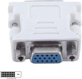 DVI-D 24+1 Male naar VGA Female Adapter