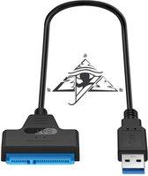 JoVaHo -  USB 3.0 naar SATA III 2.5 INCH kabel voor laptop, SSD en kleinere schijven.