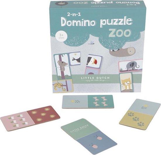 Afbeelding van het spel Little Dutch Domino Puzzel - Vanaf 3 Jaar