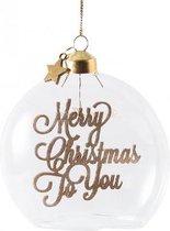Merry Christmas To You Ornament Dia 10