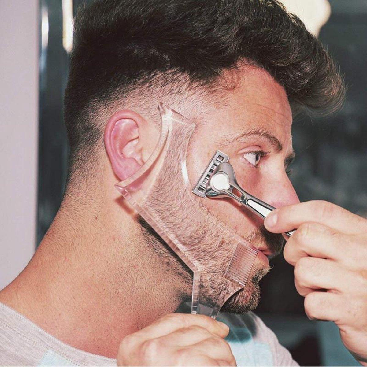 Baardvorm   Scheer baard altijd in de juiste vorm   Doorzichtig